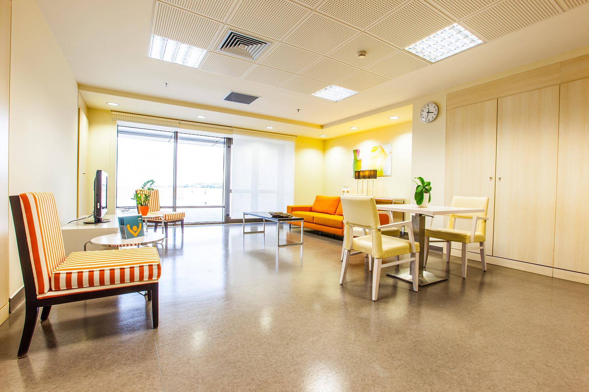 Κέντρο Αποκατάστασης Euromedica Αρωγή Θεσσαλονίκη επισκεπτήριο